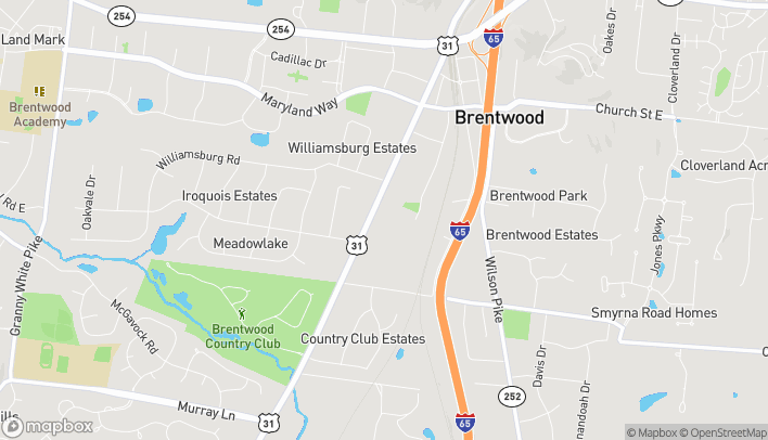 Map of 330 Franklin Rd in Brentwood