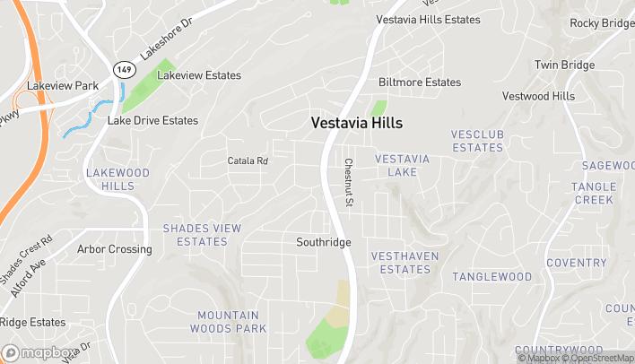 Map of 796 Montgomery Highway in Vestavia