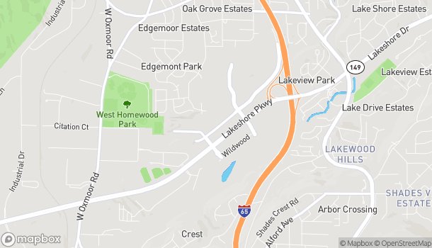 Map of 220 State Farm Pkwy in Birmingham
