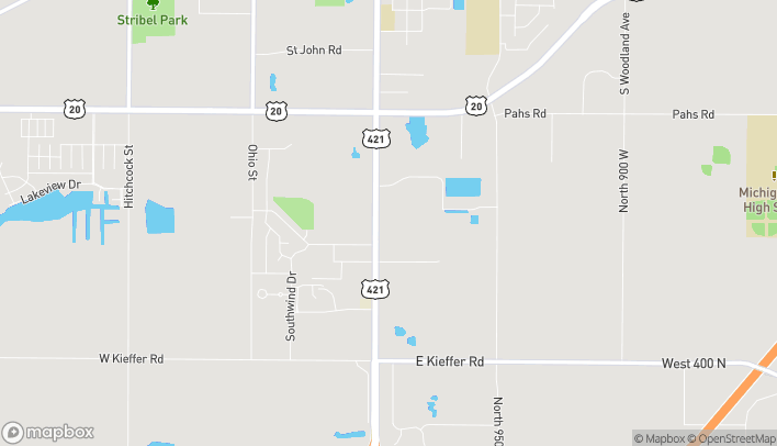 Mapa de 5182 Franklin St en Michigan City