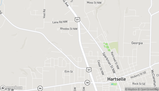 Map of 1199 US Hwy 31 NW in Hartselle