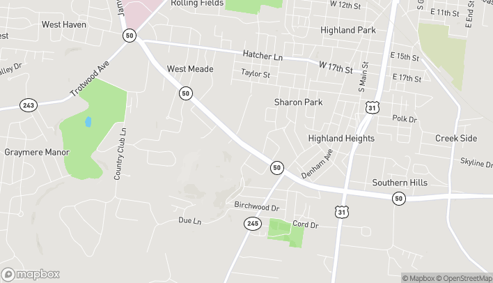 Map of 618 S James Campbell Blvd in Columbia