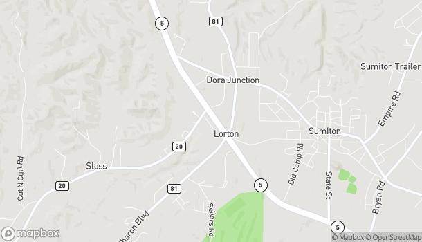 Map of 2255 Hwy 78 in Dora
