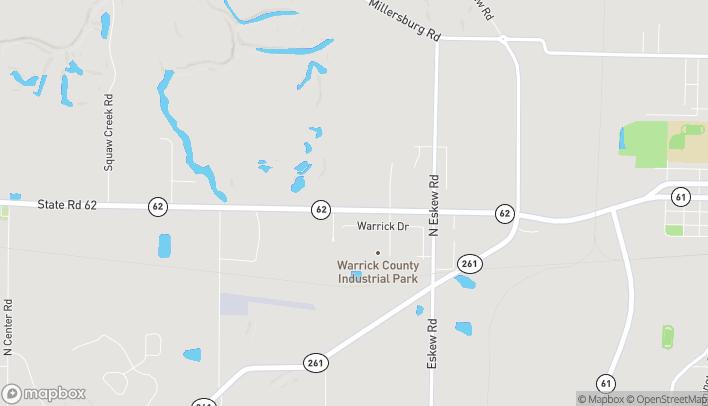 Mapa de 3355 Liberty Blvd en Boonville