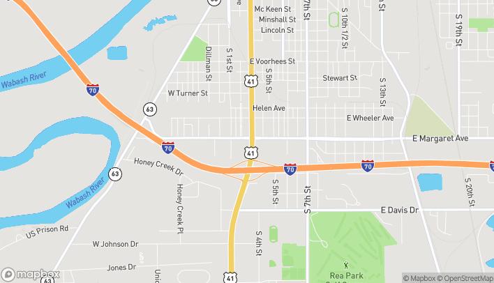 Map of 3011 S US Highway 41 in Terre Haute