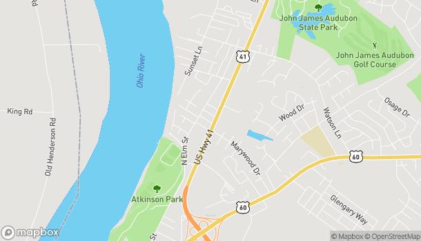 Map of 2201 US Hwy 41 in Henderson