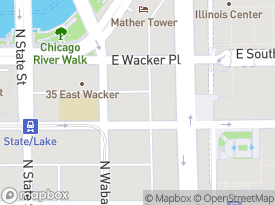 Map Of 70 East Lake Street 12 Chicago IL