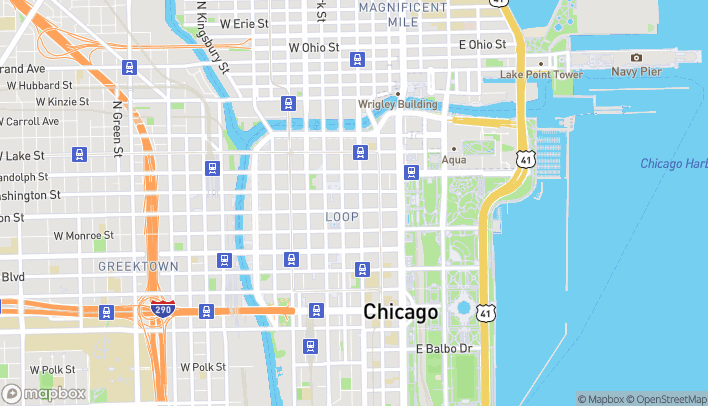 Map of 16 North State St in Chicago