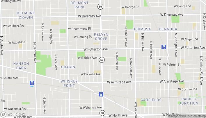 Mapa de 2249 N Cicero Ave en Chicago