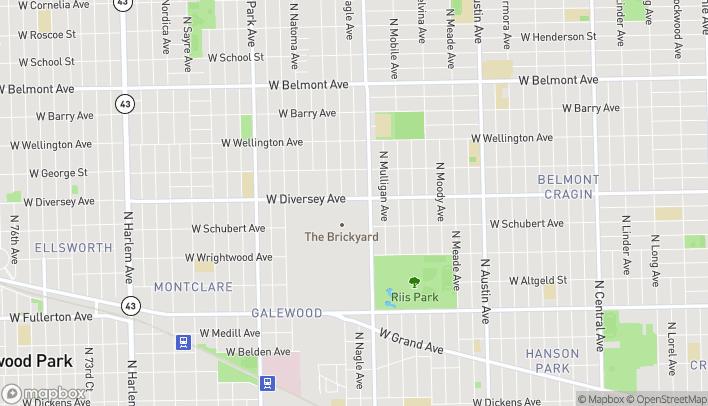 Mapa de 6451 W Diversey Ave en Chicago