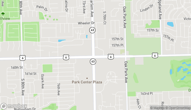 Map of 7170 W 159th St in Orland Park