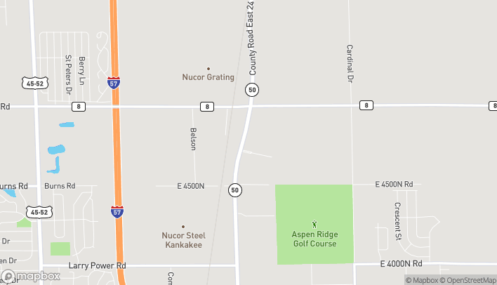 Map of 2070 N IL-50 in Bourbonnais