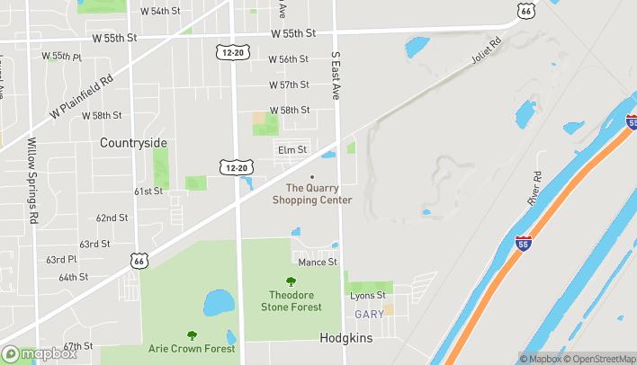 Map of 9270 Joliet Rd in Hodgkins