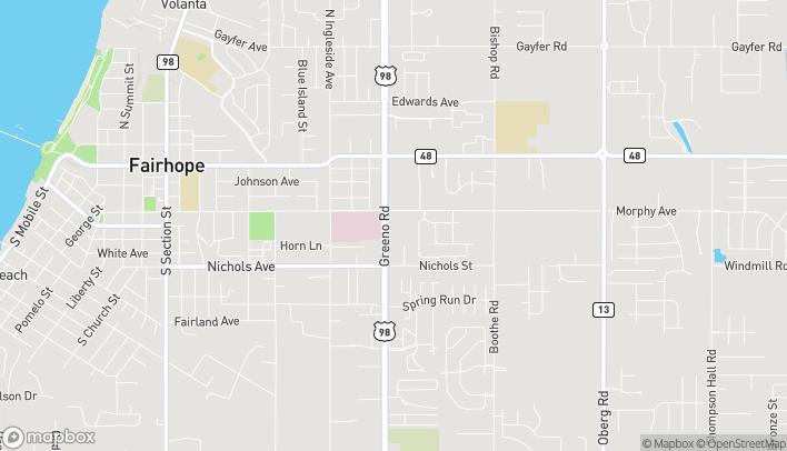 Mapa de 113 S Greeno Rd en Fairhope
