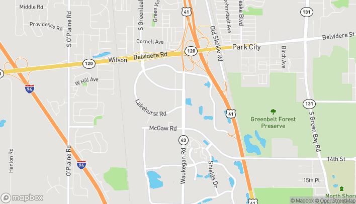 Map of 988 S Waukegan Rd in Waukegan