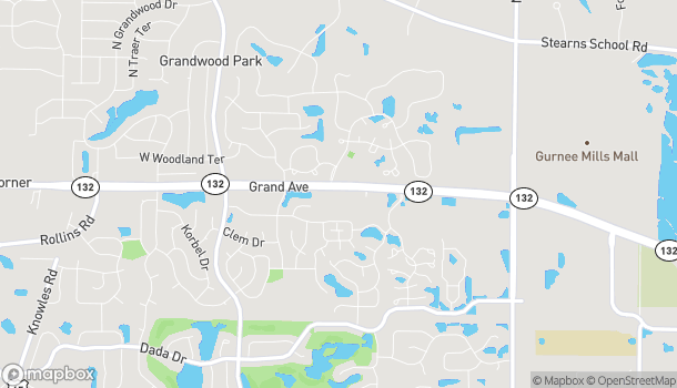 Map of 7075 Grand Ave in Gurnee