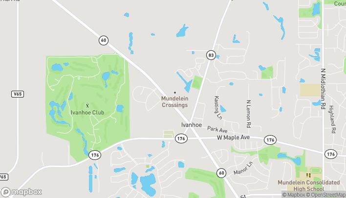 Mapa de 3034 W. IL Route 60 en Mundelein