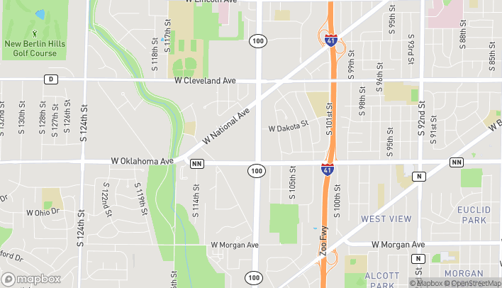 Map of 3001 S 108th St in West Allis