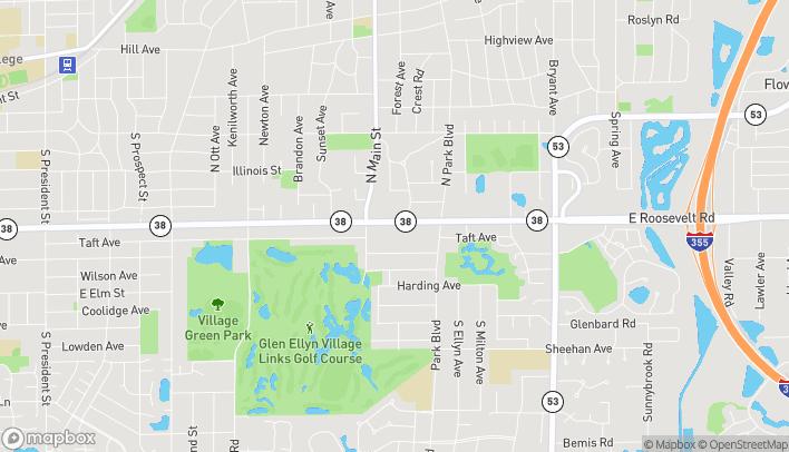 Mapa de 547 Roosevelt Rd en Glen Ellyn