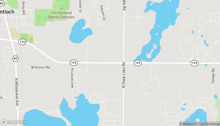 Map of 552 E IL Route 173 in Antioch