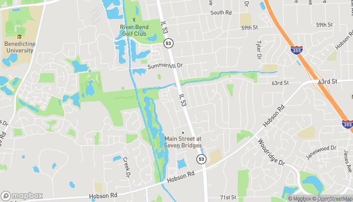 Mapa de 6410 Route 53 en Woodridge