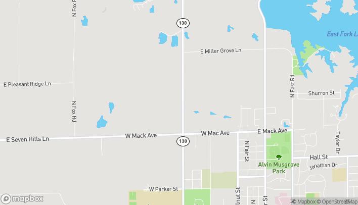 Map of 1003C N West Street in Olney