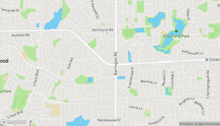 Mapa de 2640 W Schaumburg Rd en Schaumburg