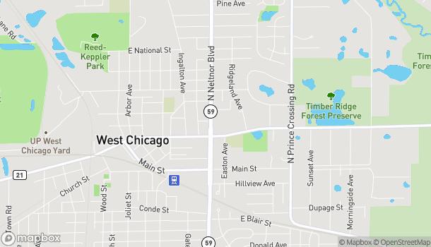 Mapa de 159 Neltnor en West Chicago