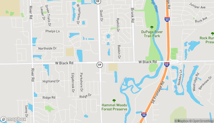 Map of 922 Brook Forest Ave in Shorewood