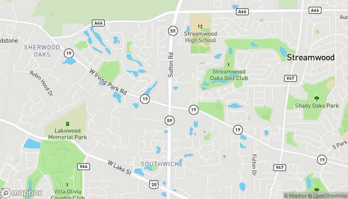 Map of 659 Sutton Rd in Streamwood