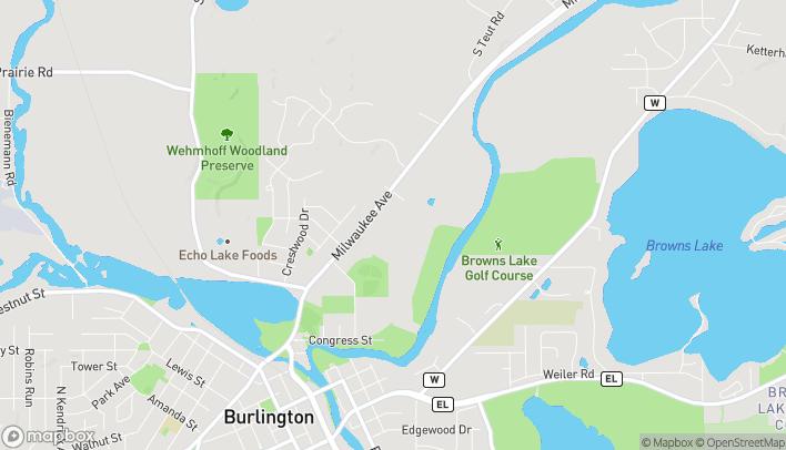 Map of 980 Milwaukee Ave in Burlington