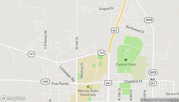 Map of 1414 Highway 121 in Murray