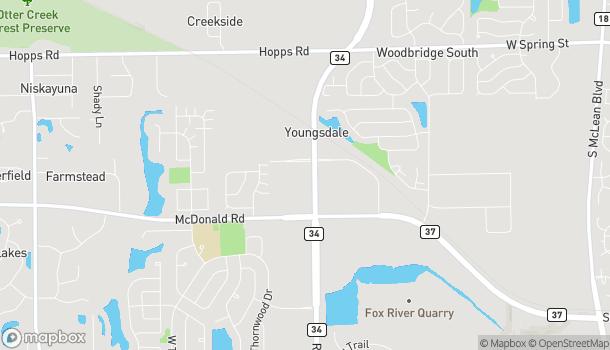 Mapa de 312 Randall Rd en South Elgin