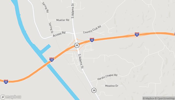Mapa de 226 Interchange Square en Fulton