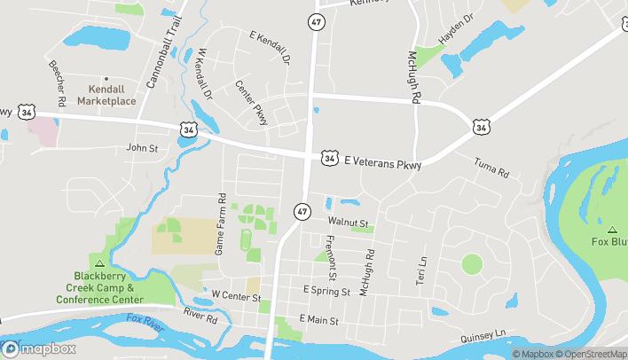 Map of 1210 North Bridge Street in Yorkville