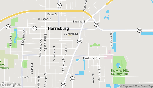 Mapa de 303 S. Commercial St en Harrisburg