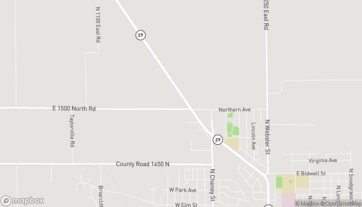 Map of 1510 W Springfield Rd in Taylorville