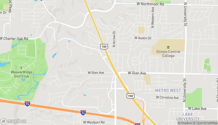 Mapa de 5012 North Big Hollow Rd en Peoria