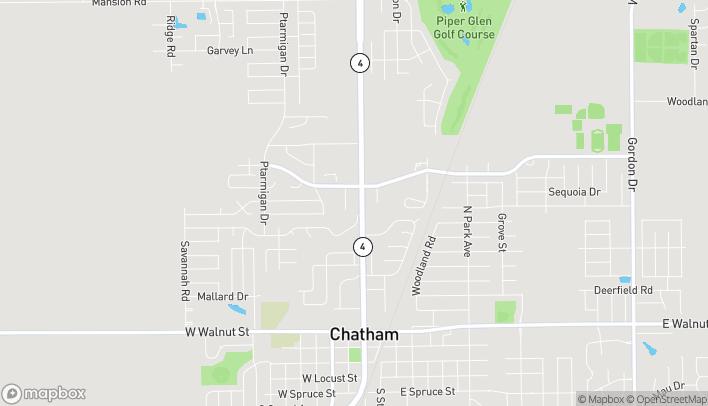 Mapa de 1034 Jason Place en Chatham