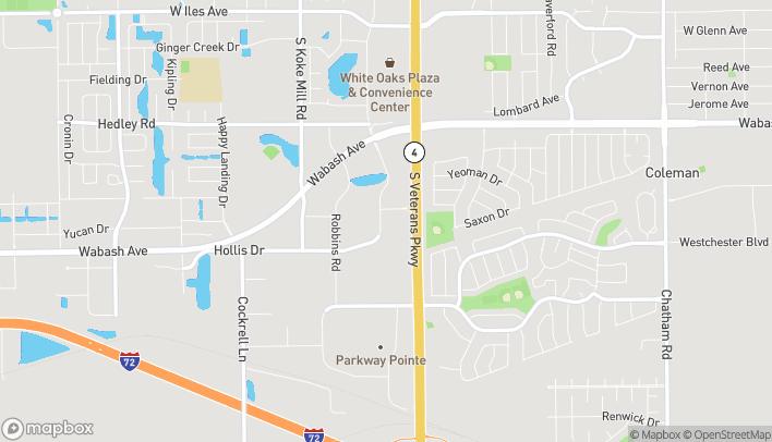 Mapa de 3209 S Veterans Pkwy en Springfield