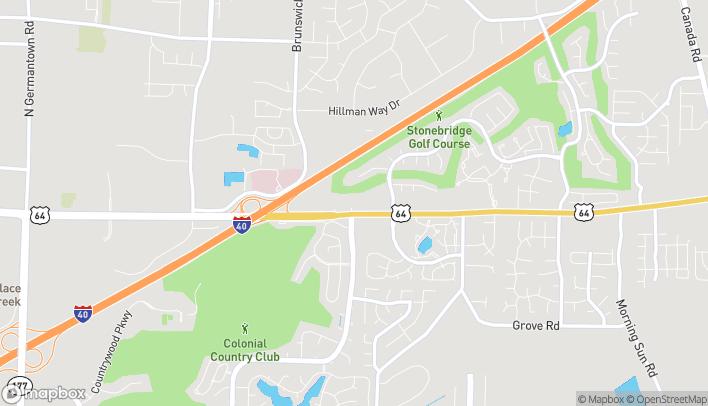 Map of 8950 Hwy 64 in Lakeland