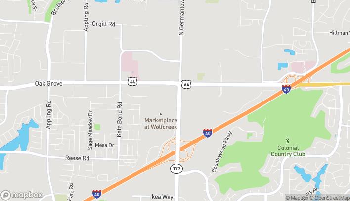 Mapa de 2825 N. Germantown Parkway en Memphis