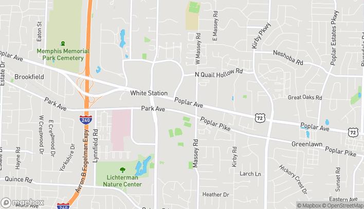 Mapa de 6267 Poplar Avenue en Memphis