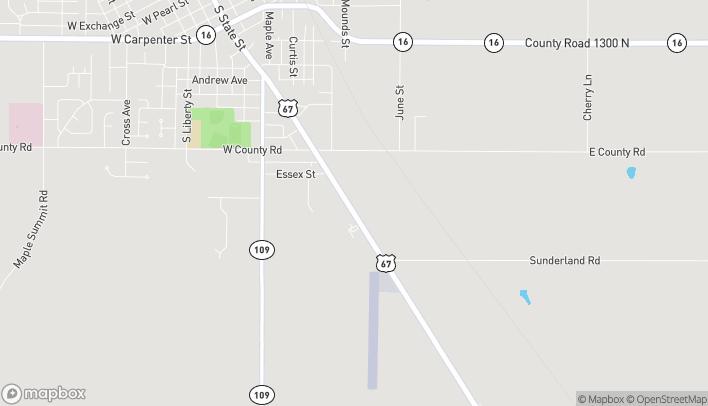 Mapa de 1301 S State St en Jerseyville