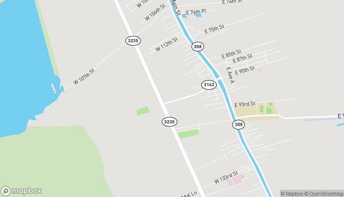 Mapa de 320 Highway 3162 en Cut Off