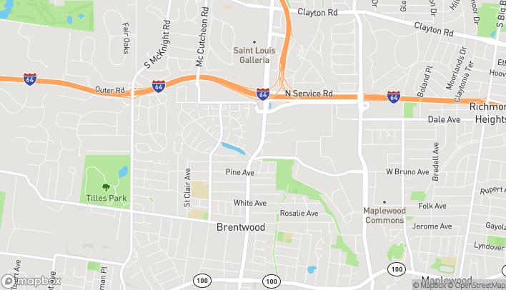 Mapa de 1811 S Brentwood Blvd en Brentwood