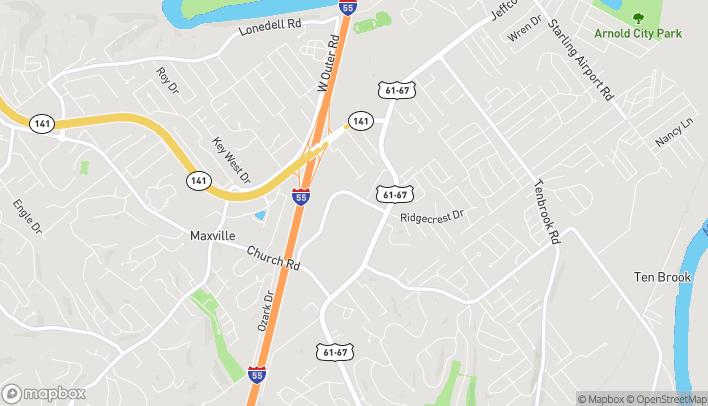 Mapa de 2245 Michigan Avenue en Arnold