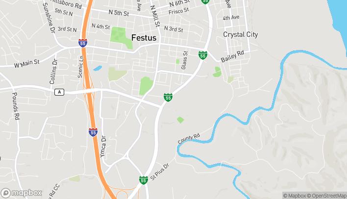 Mapa de 660 S Truman Blvd en Festus