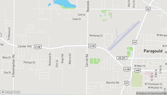 Mapa de 2708 W Kings Hwy en Paragould