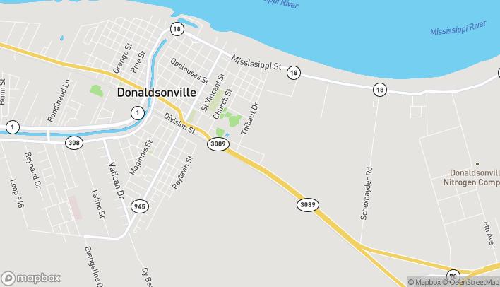 Mapa de 37200 Hwy 3089 en Donaldsonville
